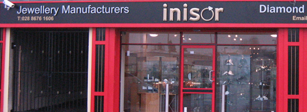 Shopfront of Inisor in Cookstown